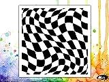 sichtbar Bild verzerrt Chess Schablone