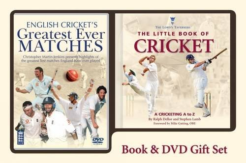 The Little Book of Cricket: A Cricketing A to Z (Book & DVD Gift Pack)