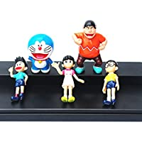 ONOGAL Doraemon Coleccion de 5 Personajes Figuras Sizuka Gigante Nobita Doraemon y Suneo 4730