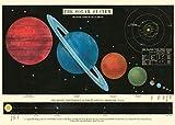 Cavallini - Poster Decorativo Sistema Solare - 20 x 28 Pollici