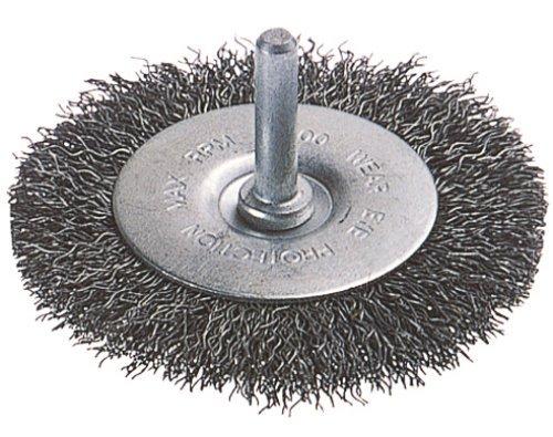 Wolfcraft 2710000 Brosse métal circulaire torsadé T6 Diamètre 50 x 12