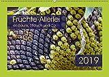 Früchte-Allerlei an Baum, Strauch und Co. (Wandkalender 2019 DIN A2 quer): Kreationen von knallgelb bis feuerrot (Monatskalender, 14 Seiten ) (CALVENDO Natur)