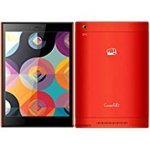(CERTIFIED REFURBISHED) Micromax Canvas Breeze Tab P660 Tablet (7.85 inch, 8GB, W-Fi + 3G, Voice Calling), Red