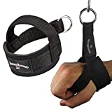 1 Stück Einhand Kabelzug Griffe / Trainings Griff / Latzug Einhandgriff schwarz