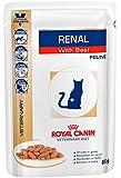 Royal Canin Vet Diet Renal Frischebeutel Beef Katze