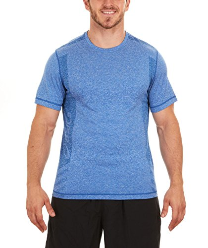 ASICS Hot Shot Tee, True Navy/True Navy (Small)
