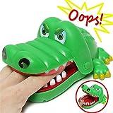 [ Kostenlose Lieferung - 7-12 Tage] Kind Kind Krokodil Mund Zahnarzt Bissen Alligator Zahn Halloween Spannende Finger Spiel Spielzeug Familie BML® // Children Kid Crocodile Mouth Dentist Bite Alliga