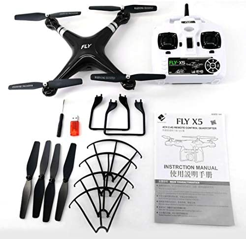 X52 Drone Grand Angle 2MP caméra HD WiFi FPV en Direct Quadcopter Altitude Attente 6 Axes hélicoptère RC 2.4GHz Drone | Durable