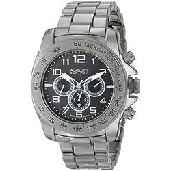 August steiner Herren-Armbanduhr AS8095BK Analog Quarz