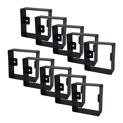 Yoozybox Plasterguard PG1, Steckdosenschutz, 10er-Set