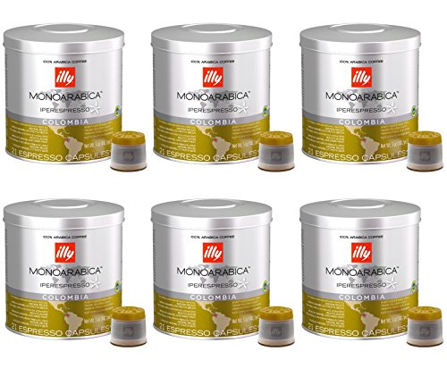 cafe-iperespresso-colombia-set-6-botes-de-21-capsulas-cada-uno