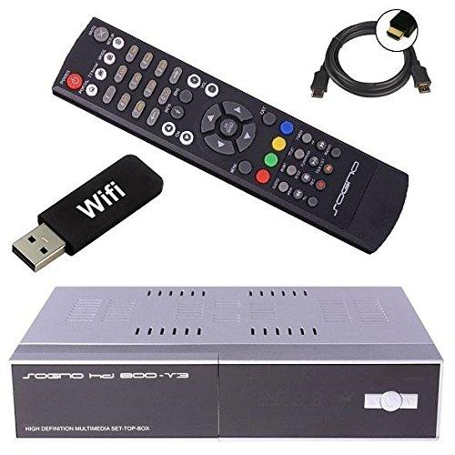 SOGNO HD800 V3 mit neuester Firmware 6.1 + !! USB W-LAN STICK !! Enigma 2 Linux HDTV Satelliten Receiver mit Kartenleser und CI-Schacht, Mediaplayer, IPTV, Streamin