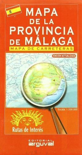 Mapa de La Provincia de Málaga (MAPAS DE CARRETERAS) por Arguval