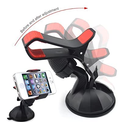 In Car Holder for Apple Iphone 7 / 7 Plus / 6s / 6 / 6 Plus / 5 / 4 / 4s / 3G / 3 and IPOD series 2016 Model