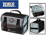 Zebco Pro Staff Lure Keeper 22x13x14cm + 3 Angelboxen, Anglertasche, Ködertasche, Tackletasche, Köderboxen, Tackleboxen
