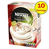 Nescafe Cappuccino ungesüßt 10 x 14,2 g