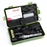 DRESS_start Helle 5000LM X800 shadowhawk T6 LED Taschenlampe G700 Licht Kit Fokus Wasserdicht Taschenlampen für Outdoor Sports