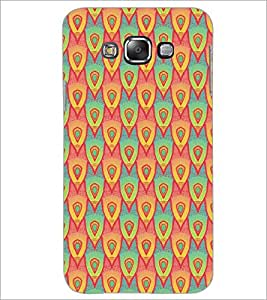 PrintDhaba Pattern D-5244 Back Case Cover for SAMSUNG GALAXY GRAND 3 (Multi-Coloured)