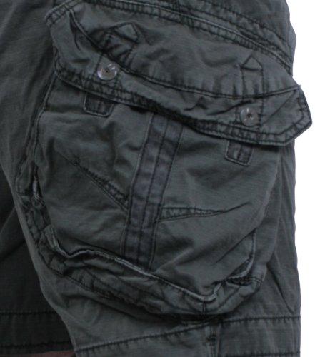 JET LAG Take Off 3 Cargo-Short, Kurze Hose inkl. F524 Camo Schlüsselband Olive