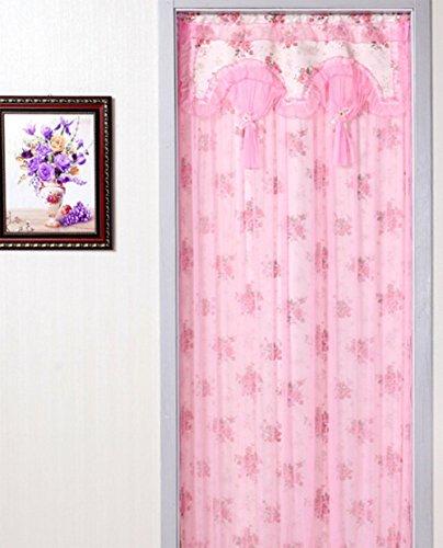 MENLIAN Luxus Stoff Schlafzimmer Schattierung Doppelgarn Vorhang, 90 * 200
