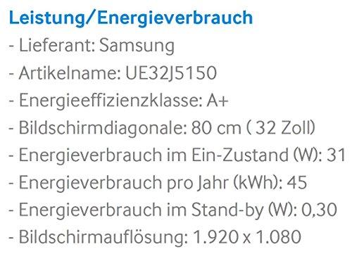 Samsung UE32J5670 80 cm (32 Zoll) Full-HD Fernseher - 3