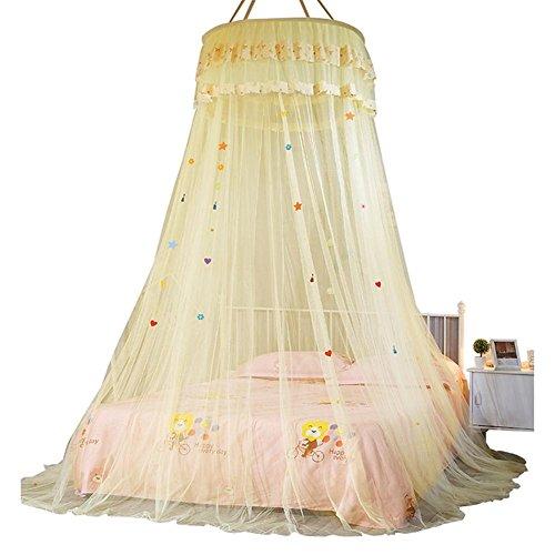 zelt kinder moskitonetz tipi zelt, Dome Decke ausgesetzt Bett Baldachin Prinzessin Queen Moskitonetz Bett Zelt einzelne Tür bodenlangen Vorhang -