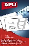 APLI 2579 - Bolsillos porta tarjetas