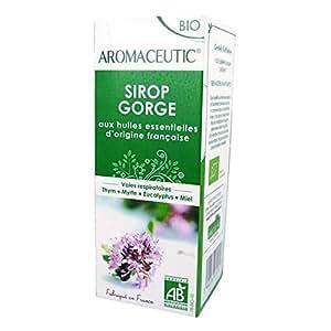 Aromaceutic bio - sirop gorge 100 ml