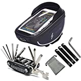 Best Bicycle Tool Kits - Ownmax Bike Bag Bicycle Tool - Waterproof Handlebar Review