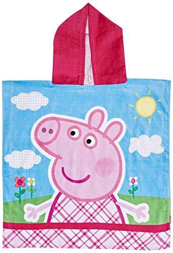 Poncho toalla playa/piscina Peppa Pig