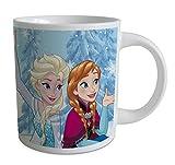 BETA SERVICE EL51293 Die Eiskoenigin Frozen III 2 Motive 240 ml Tasse, Keramik, bunt, 1 Stück, sortierte Ware