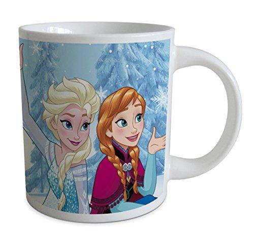 Beta Service el51293la Reine des Neiges Frozen III 2motifs 240ml de tasse, plastique, multicolore, 15x 25x 12cm