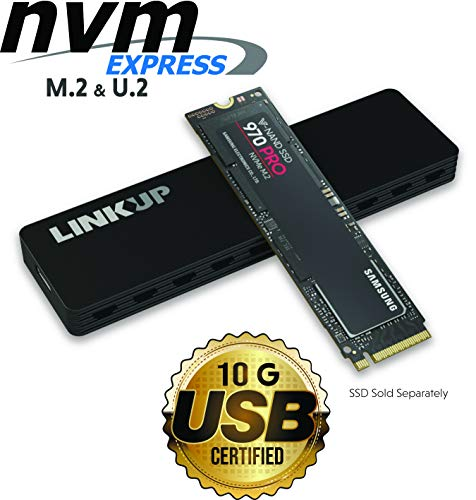 LINKUP NVMe Enclosure M.2 SSD to USB C 10Gbps Adapter