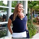 Boba Wrap - Fular portabebés, color azul
