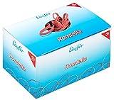 Läufer 51041 Rondella Gummibänder 100 X 5 mm, Durchmesser 65 mm, 5 mm breite Gummiringe, 1kg Schachtel, rot
