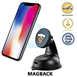 #3: Tech Sense Lab Universal Magnetic Mobile Mount/Magback For Car Dashboard, Windscreen or Work Desk