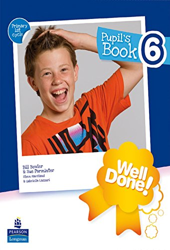 Well Done! 6 Pupil'S Pack - 9788498373110 por Susan Marsland Parminter