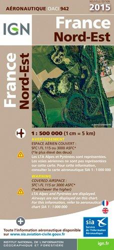 OACI942 FRANCE NORD-EST 2015 1/500.000