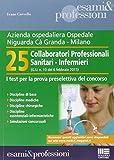 Azienda ospedaliera Ospedale Ca' Granda, Milano. 25 collaboratori professionali sanitari-infermieri. I test per la prova preselettiva del concorso