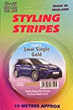 Castle 3MM SINGLE STRIPE GOLD Accessories Styling Graphics Pinstripes CPS01G