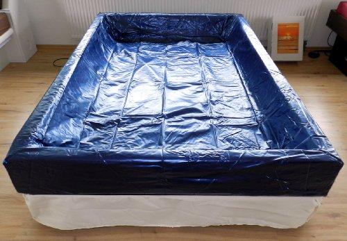Wasserbett Sicherheitsfolie Liner Auslaufschutz Softside - Alle Bettgrößen erhältlich