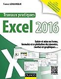 Travaux pratiques avec Excel 2016 - Saisie et mise en forme, formules et exploitation des données...: Saisie et mise en forme, formules et exploitation des données, courbes et graphiques...