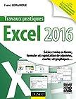 Travaux pratiques avec Excel 2016 - Saisie et mise en forme, formules et exploitation des données, courbes et graphiques.