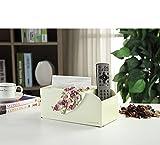 Hyun Times Mode Minimaliste européenne boîte de Tissu Mignon Fleur Tube Serviette...