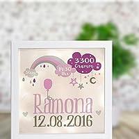 Leuchtrahmen Nachtlicht Wandlicht Lightbox Ramona
