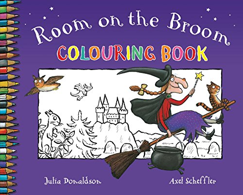 Room on the Broom Colouring (Broom Witch's)