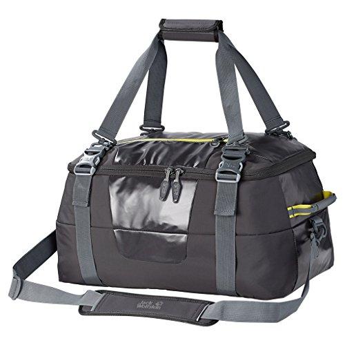 Jack Wolfskin sac de voyage freight bagages duffle 40 sac de voyage-gris foncé 30 x 52 x 38 cm - 2003461–6032 40 l