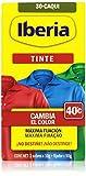 Iberia - Tinte Nº 30 caqui, cambia el color 40º - 2 sobres x 10 g + fijador x 50 g