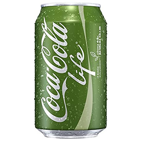 Coca Cola Life 33cl pack de 24