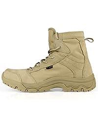Soldado libre al aire libre hombres tormenta ultraligero Tactical botas transpirable zapatos ligero y duradero, hombre, Sand Color, 43 (UK9)